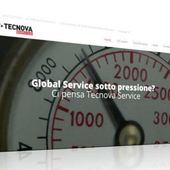 TECNOVA Service Lancio Sito