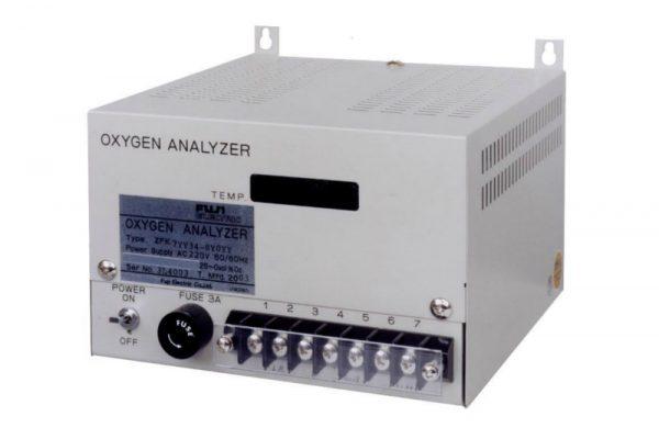 analizzatore di ossigeno retroquadro