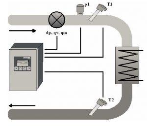 Calcolatore di Energia Servizio Vapore