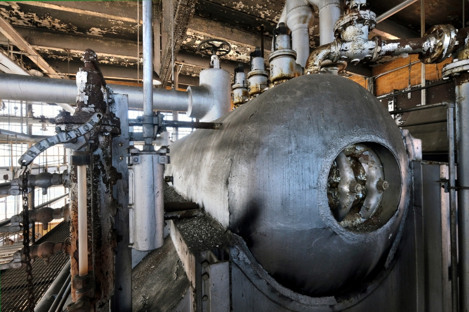 generatore di vapore vecchio
