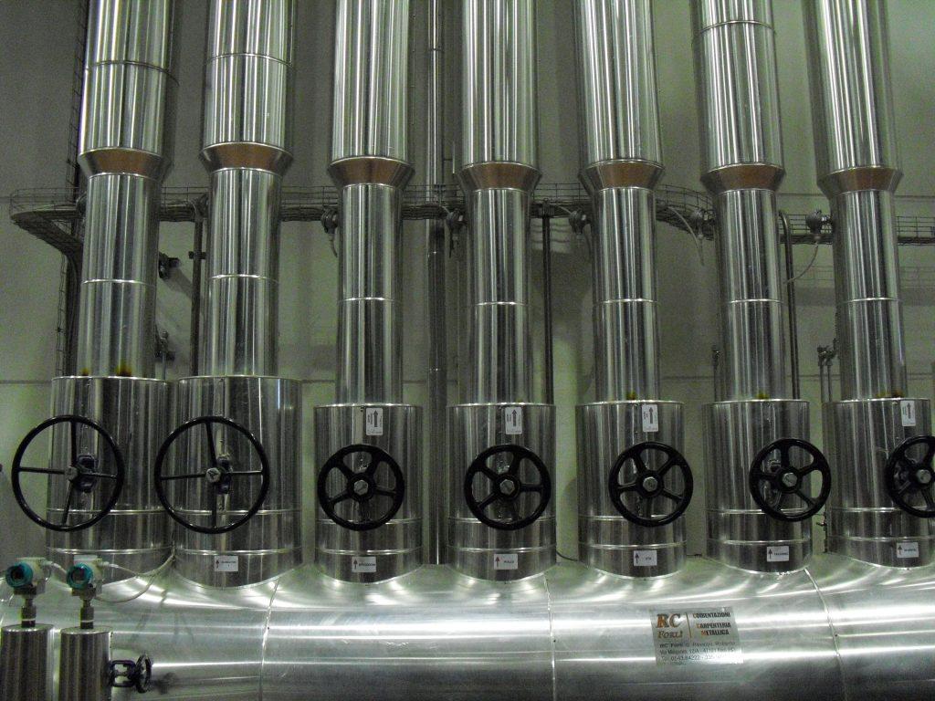 generatore di vapore manifold