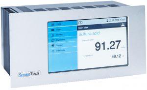 Controllore Sensotech la Mente Pensante analisi ultrasonica fase liquida