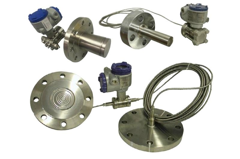 Trasmettitori con Separatori per Pressione Differenziale, Pressione Assoluta e Pressione Relativa