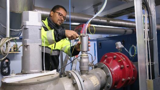 Analizzatori Biogas Vaisala in campo